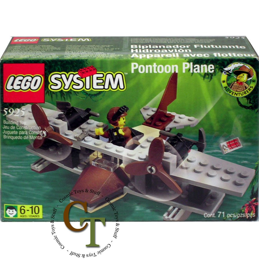LEGO 5925 Pontoon Plane - Adventurers Jungle