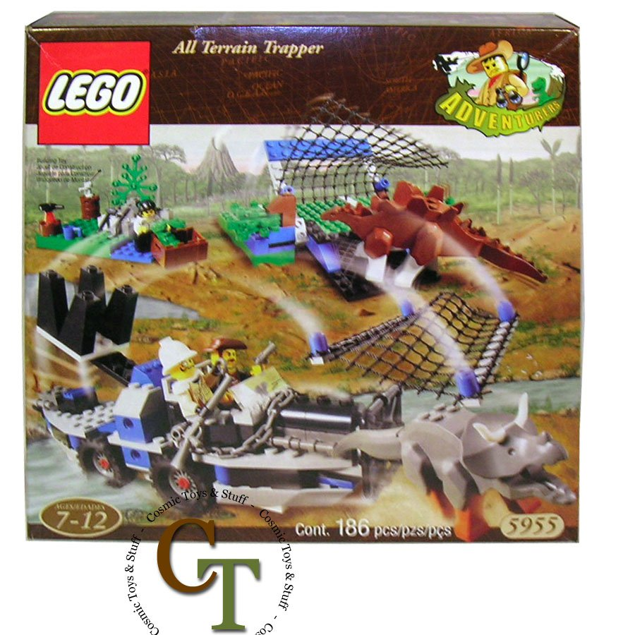 LEGO 5955 All Terrain Trapper - Dinosaurs