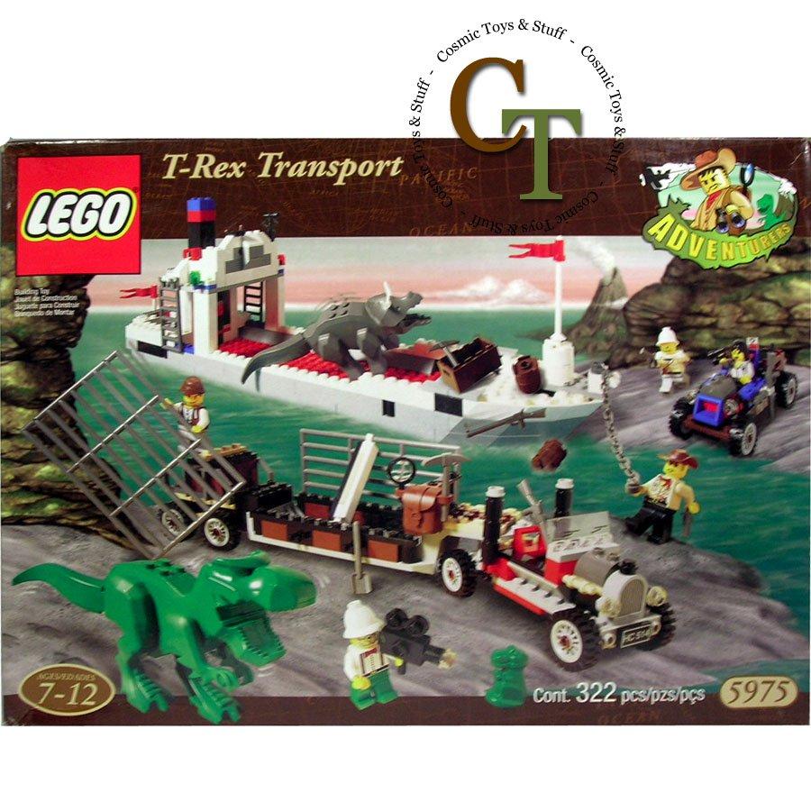 LEGO 5975 T-Rex Transport - Dinosaurs