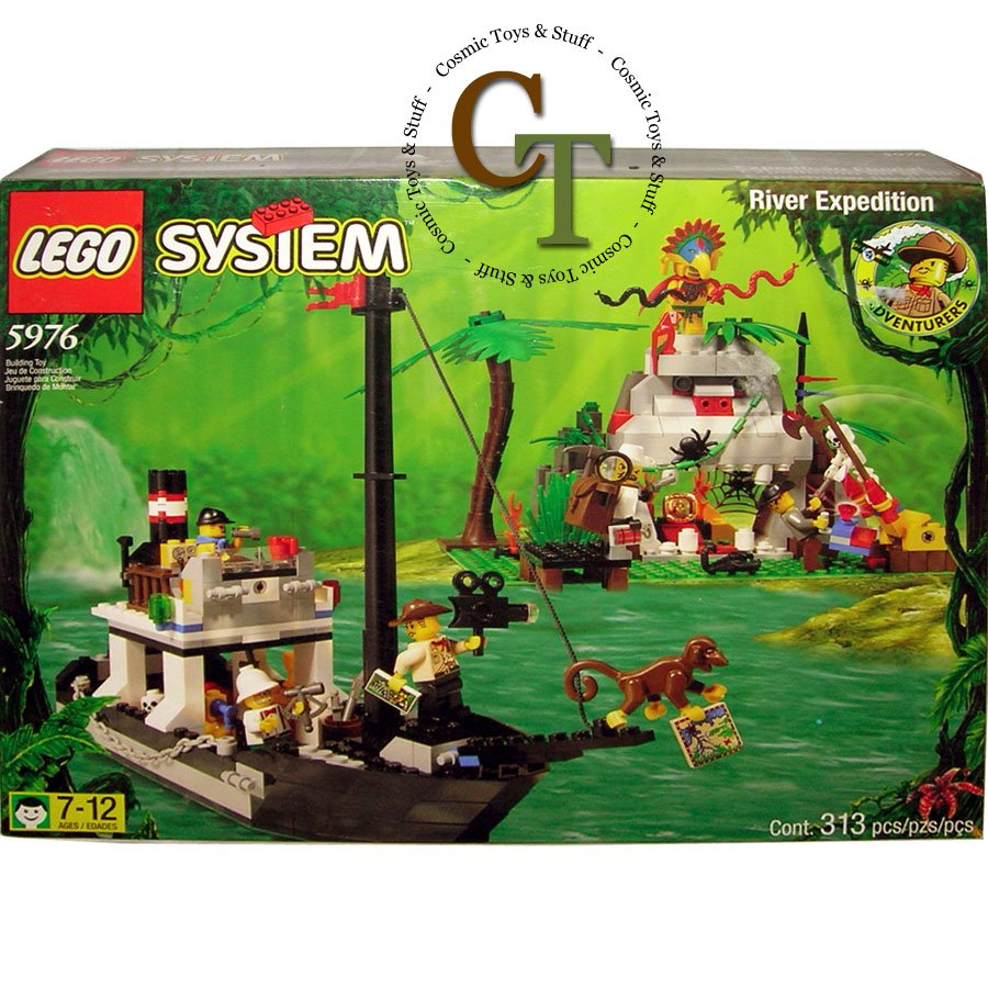 LEGO 5976 River Expedition - Adventurers Jungle