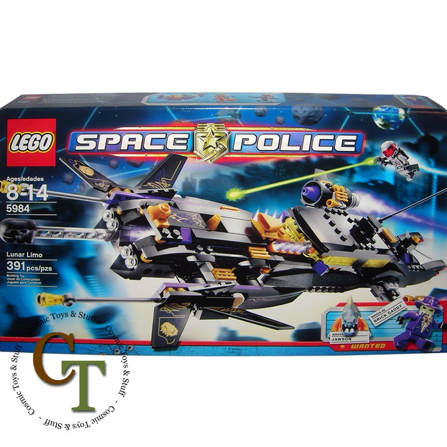 LEGO 5984 Lunar Limo - Space Police