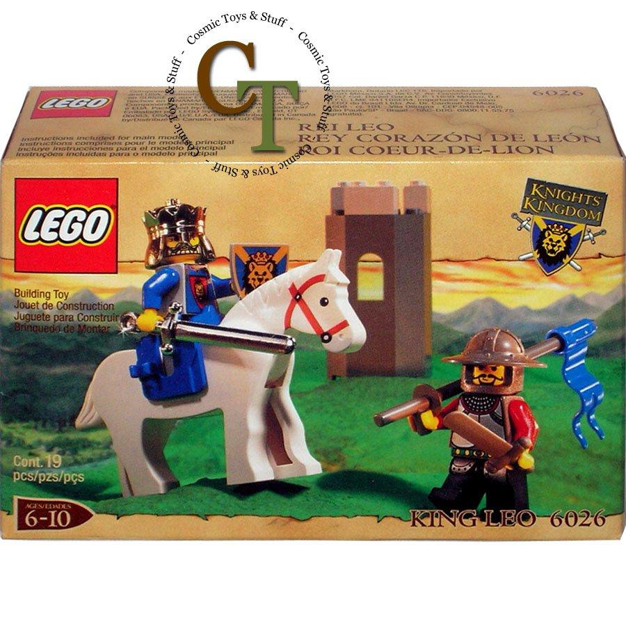 LEGO 6026 King Leo - Knights Kingdom