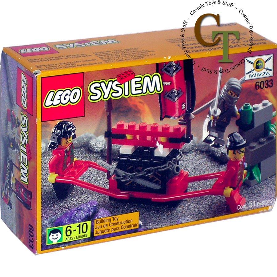 LEGO 6033 Treasure Transport - Ninja