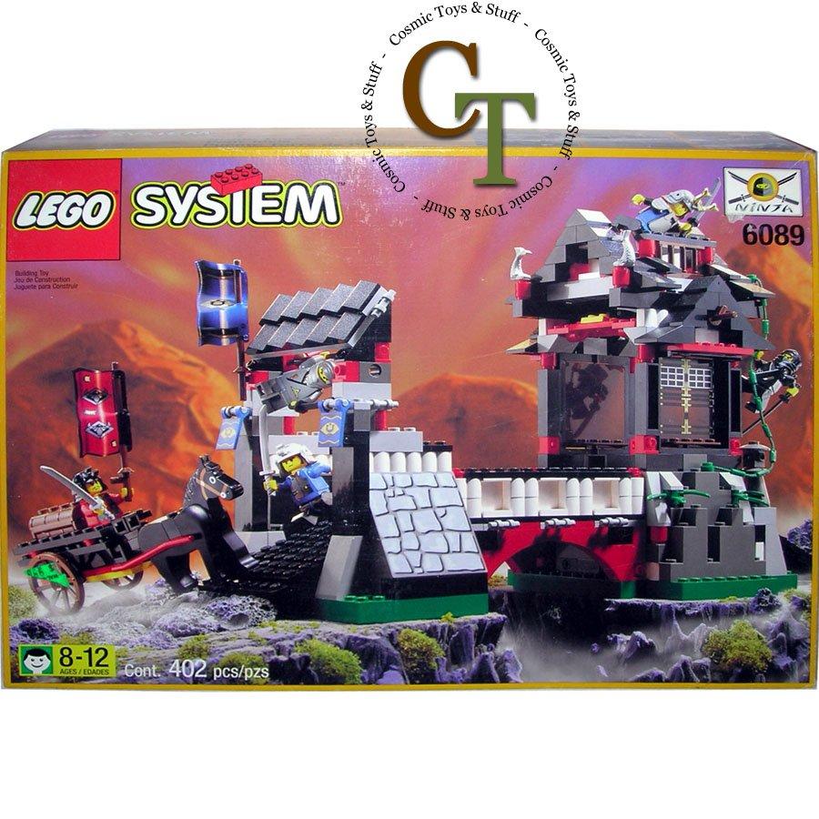 LEGO 6089 Stone Tower Bridge - Ninja