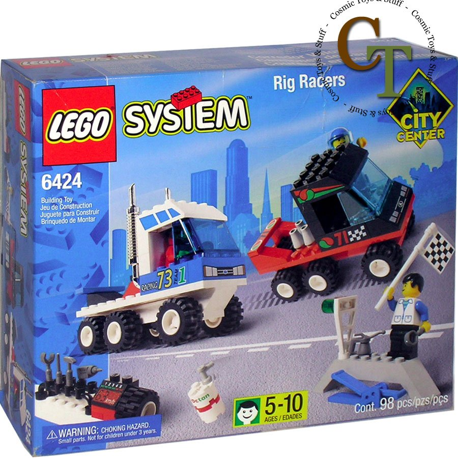 LEGO 6424 Rig Racers - City Center