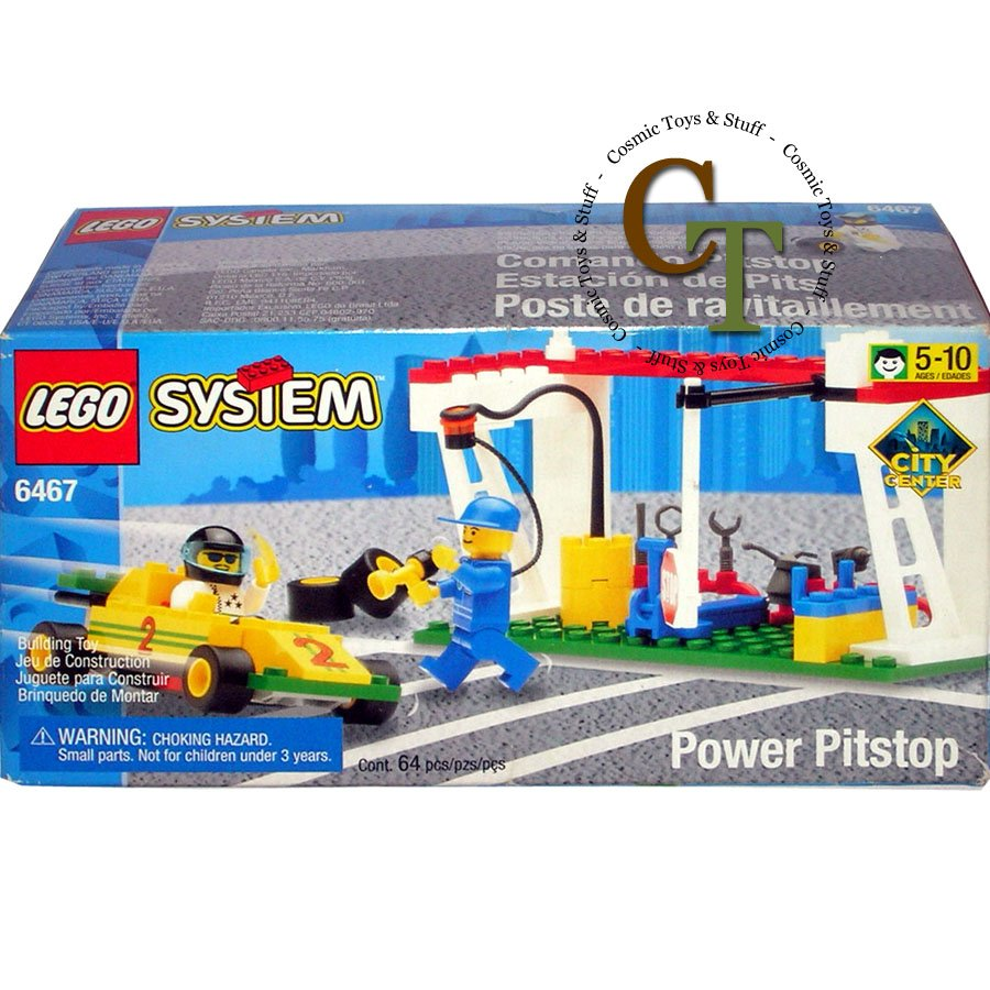LEGO 6467 Power Pitstop - City Center