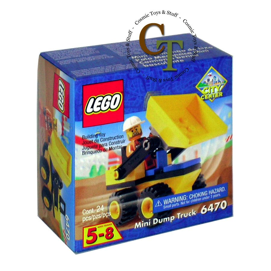 LEGO 6470 Mini Dump Truck - City Center