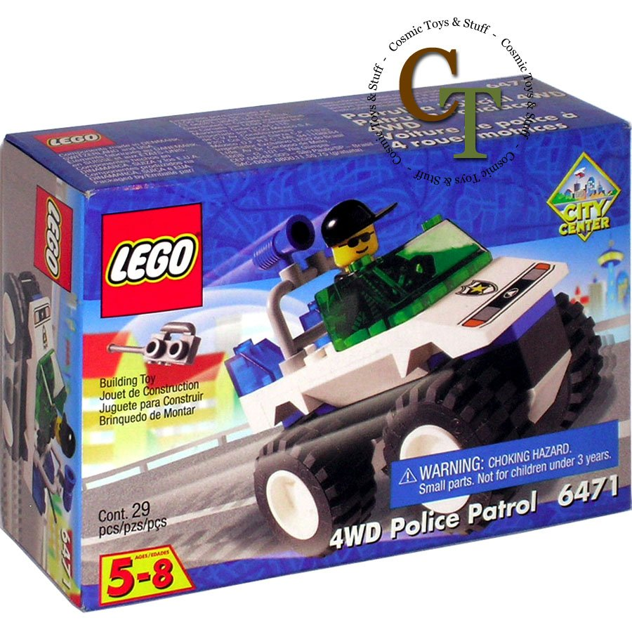 LEGO 6471 4WD Police Patrol - City Center