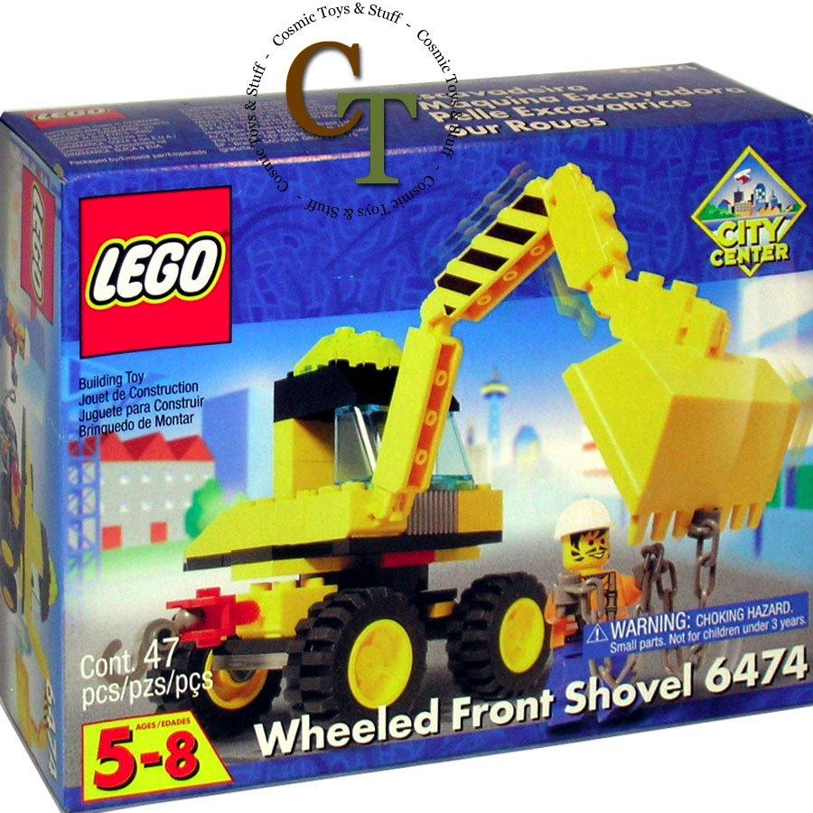 LEGO 6474 Wheeled Front Shovel - City Center