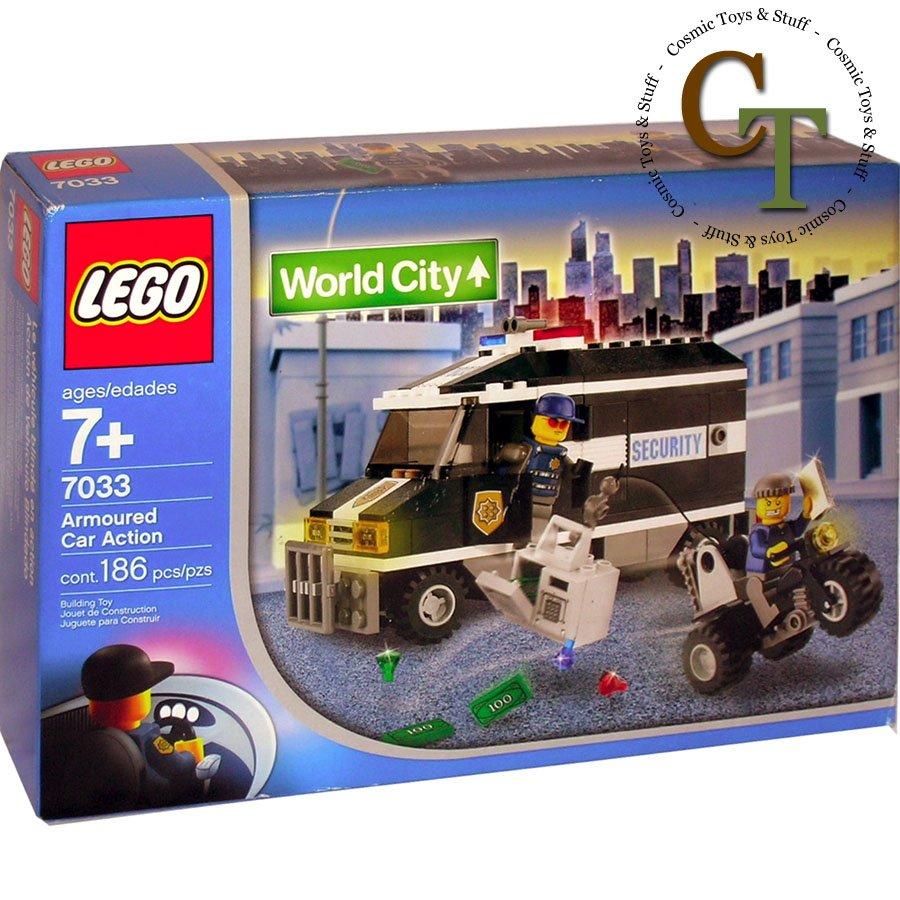 LEGO 7033 Armored Car Action