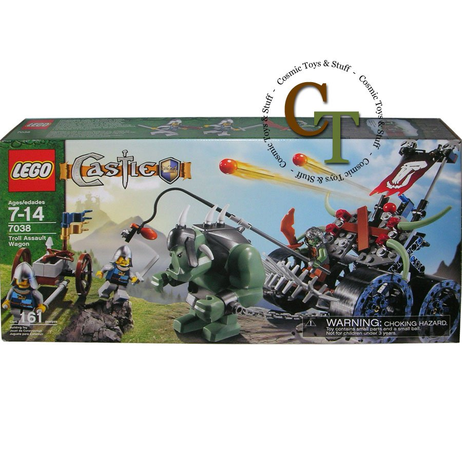 LEGO 7038 Troll Assault Wagon - Castle