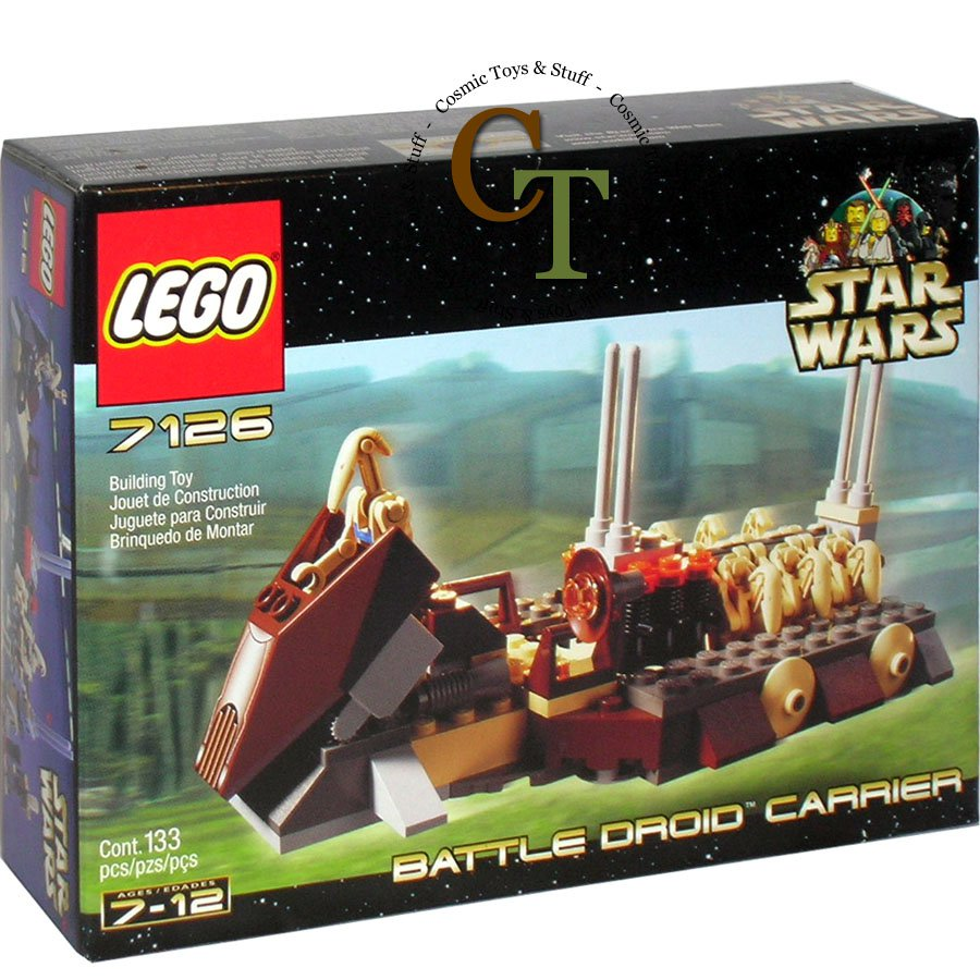 LEGO 7126 Battle Droid Carrier - Star Wars