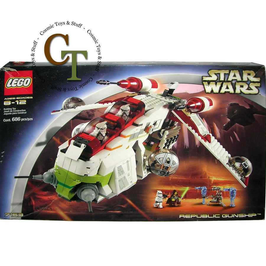 LEGO 7163 Republic Gunship - Star Wars
