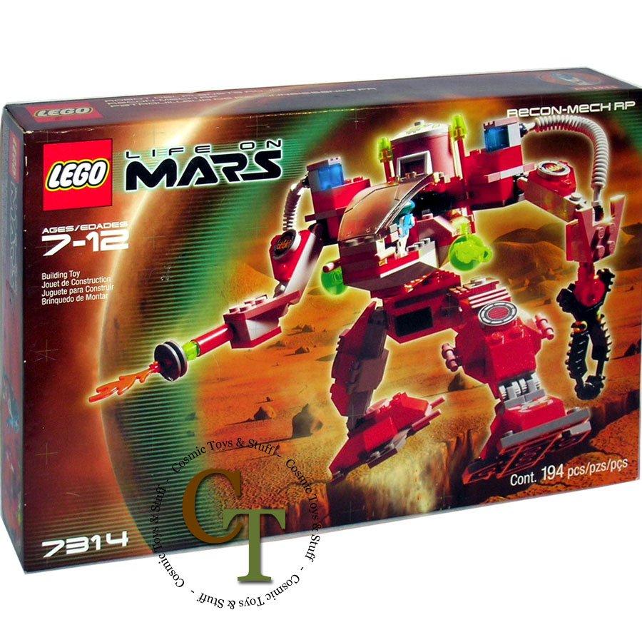 LEGO 7314 Recon Mech RP - Life on Mars
