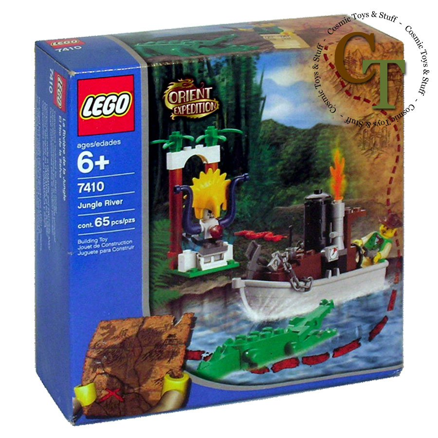 LEGO 7410 Jungle River - Orient Expedition