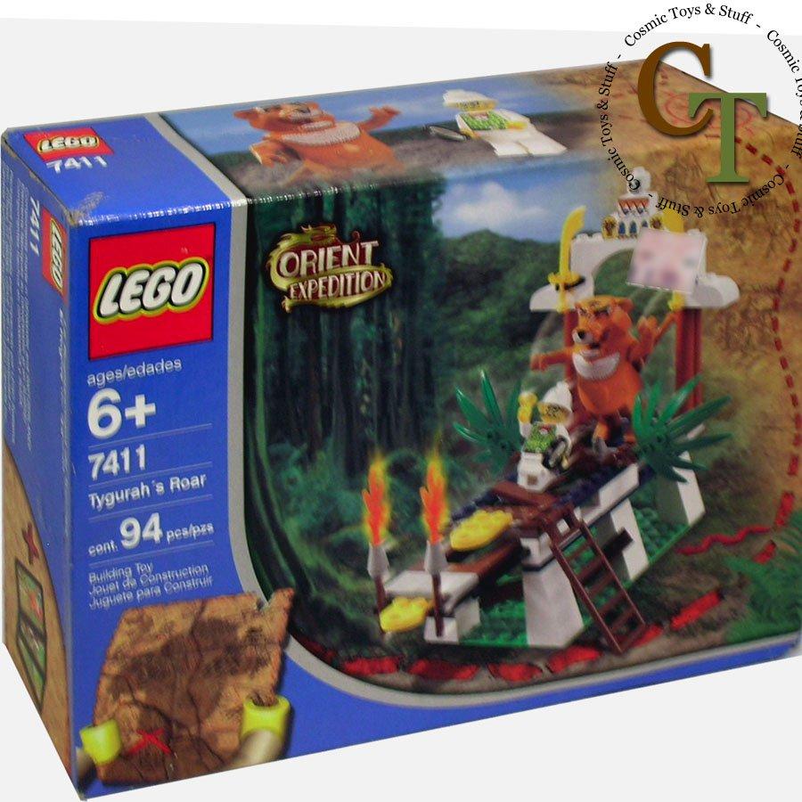 LEGO 7411 Tygurah's Roar - Orient Expedition