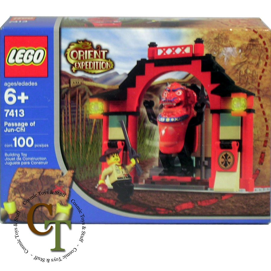 LEGO 7413 Passage of Jun-Chi - Orient Expedition