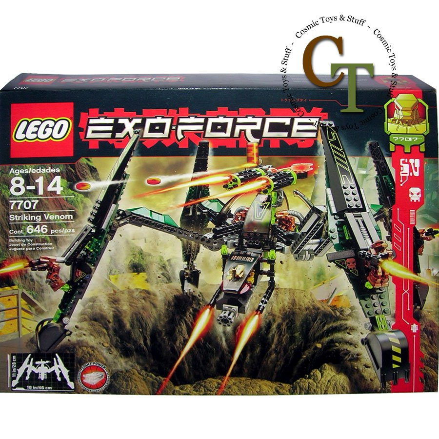 LEGO 7707 Striking Venom - Exo-Force