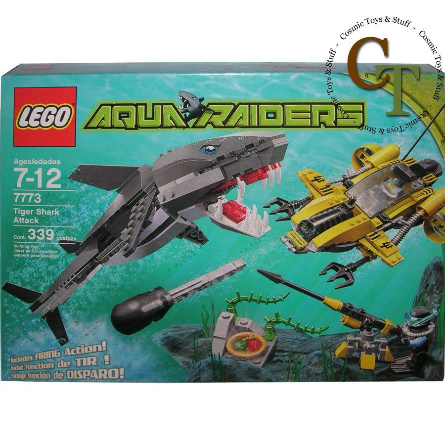 LEGO 7773 Tiger Shark Attack - Aquaraiders
