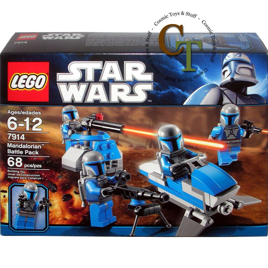 LEGO 7914 Mandalorian Battle Pack - Star Wars