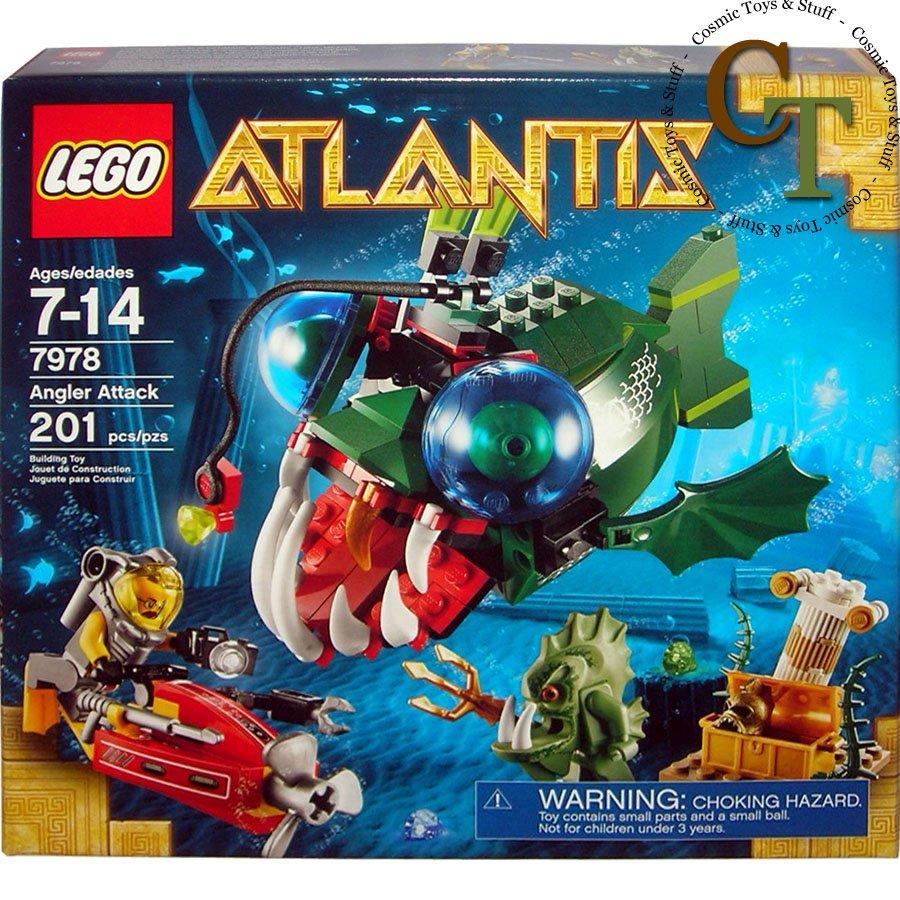 LEGO 7978 Angler Attack - Atlantis