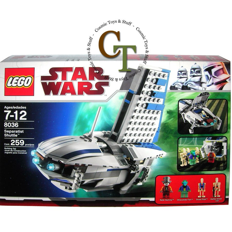LEGO 8036 Separatist's Shuttle - Star Wars