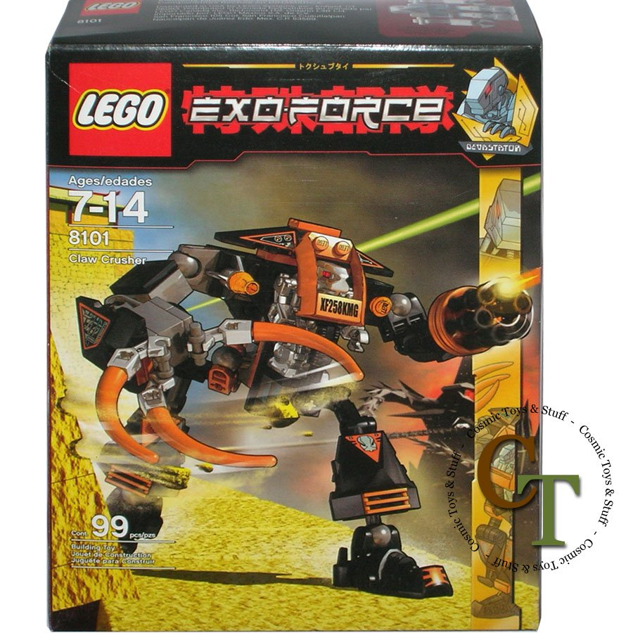 LEGO 8101 Claw Crusher - Exo-Force