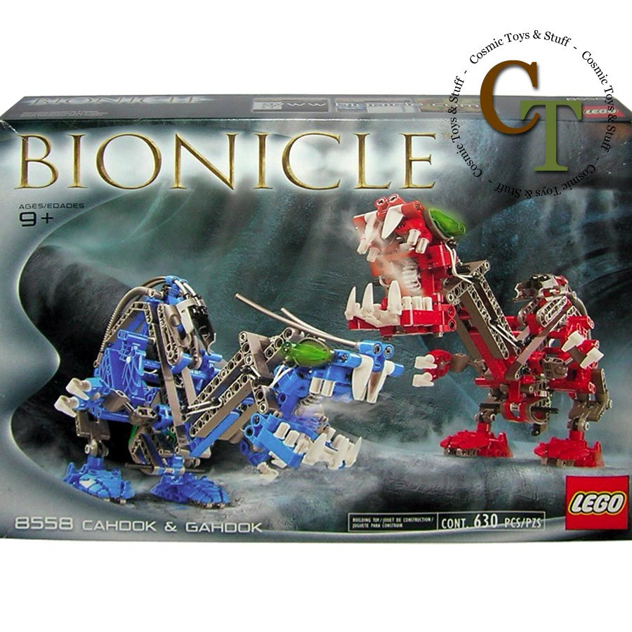 LEGO 8558 Cahdok and Gahdok - Bionicle