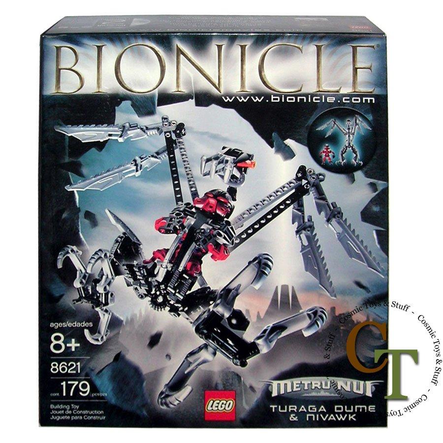 LEGO 8621 Turaga Dume and Nivawk - Bionicle
