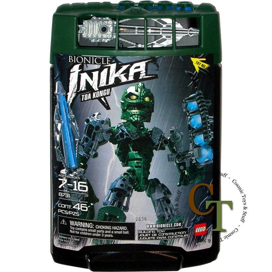 LEGO 8731 Toa Kongu - Bionicle