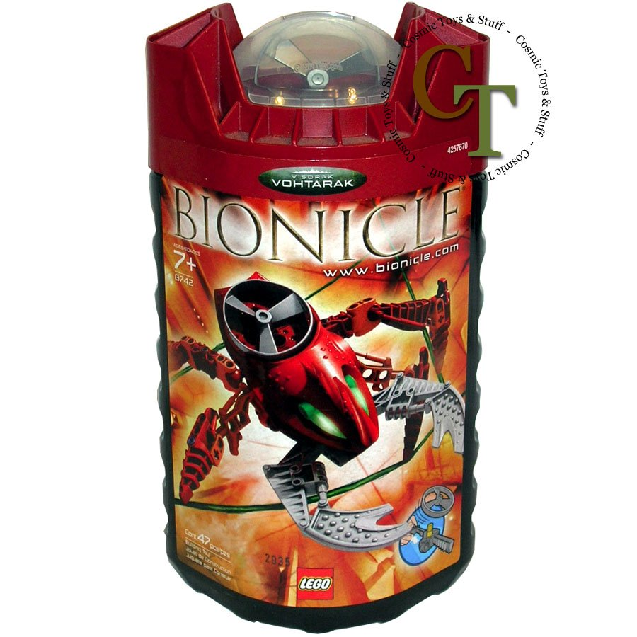 LEGO 8742 Visorak Vohtarak - Bionicle