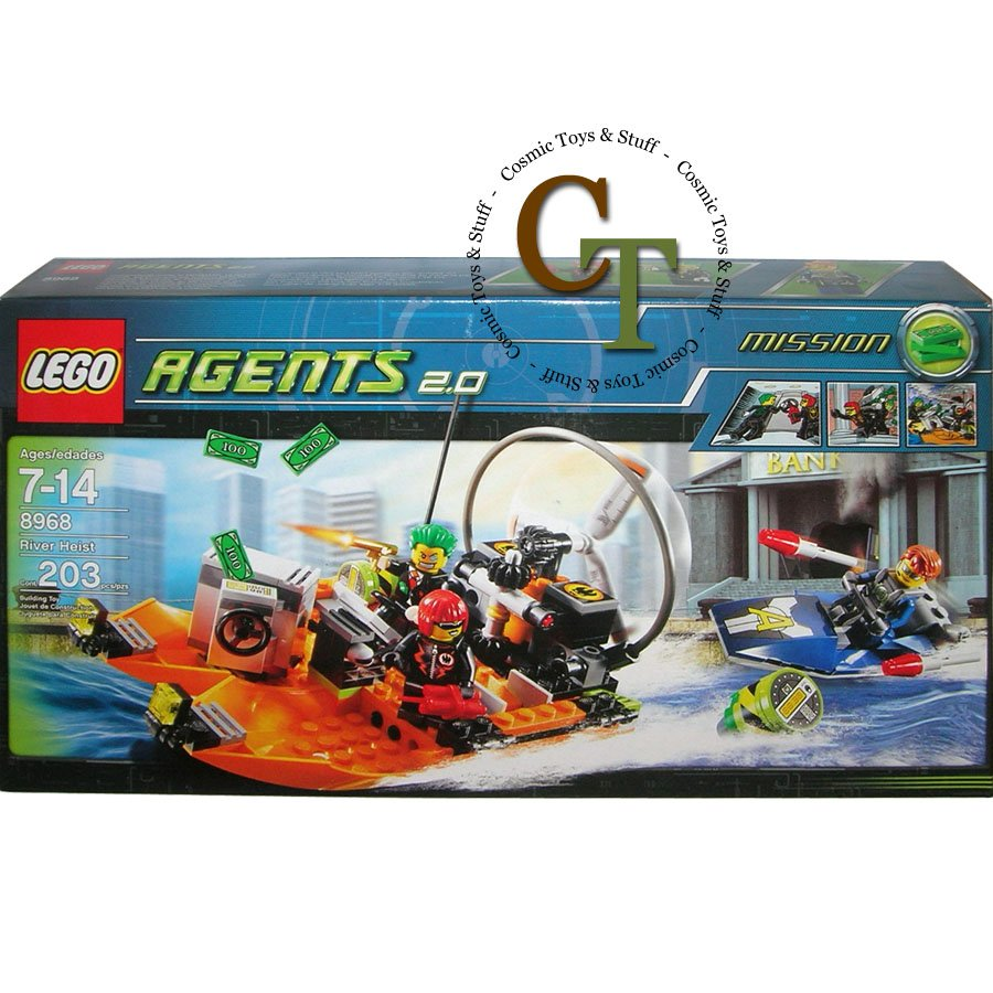 LEGO 8968 River Heist - Agents