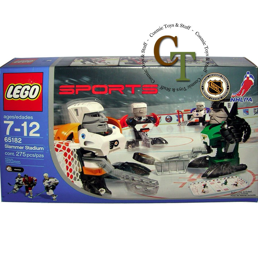 LEGO 65182 Slammer Stadium - Sports Hockey