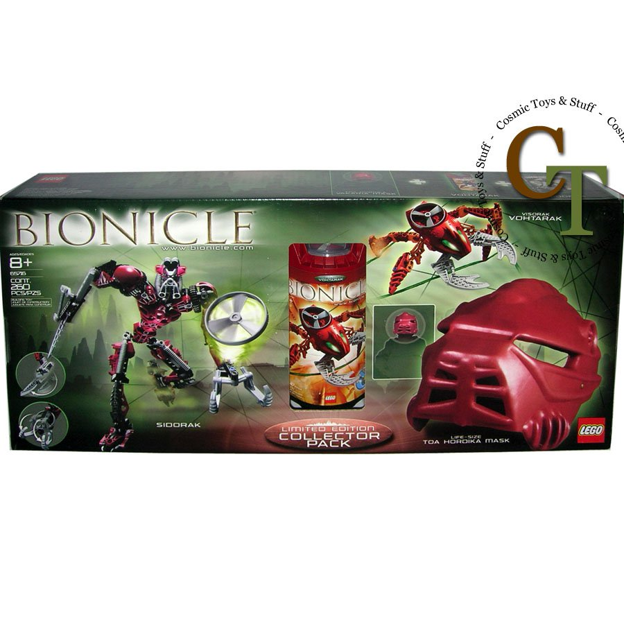 LEGO 65716 Sidorak Vohtarak Co-pack Hordika Mask ( deboxed ) - Bionicle