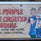 Vintage 1959 Topps WACKY PLAK Trading Post Card #31