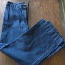 LIZ CLAIBORNE Women's Jeans - Blue - Size 8 - 99% Cotton - EUC *