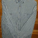 AEROPOSTALE Men's Shirt - Blue Brown & Yellow - Size Medium -  EUC *