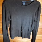 THE LIMITED Women's Pullover Shirt   Black  Size S *