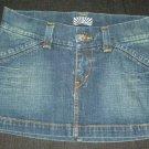 LEVIS Women's Jean Skirt -  Blue - Size 7 - EUC*