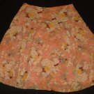 Womens Orange Tan Brown AMERICAN EAGLE OUTFITTERS Skirt 4