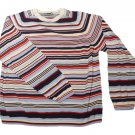 Womens Multi-Color TOMMY HILFIGER Pullover Sweater XL 100% Cotton