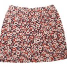 Womens Red Blue White CHRISTOPHER & BANKS Casual Skirt 8