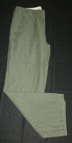 DOCKERS Men's Casual Pants - Green - Size 34 - EUC