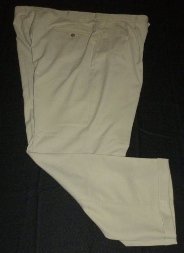 HAGGAR Men's Dress Pants - Brown - Size 44 - EUC