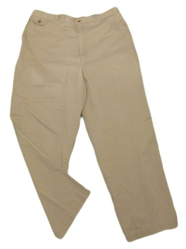 Mens Brown WOODS & GRAY Casual Pants 38 - 40 X 27 3/4 Cotton Blend