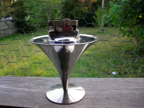 VINTAGE MARTINI SHAPED RETRO STYLE ~SOLINGEN GERMANY~ SILVER ART DECO ~1960s
