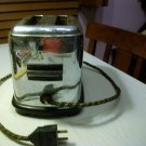 VINTAGE Electric TOASTMASTER CHROME TOASTER ~MODEL 1B8 ~1930's ~BAKELITE ~McGraw