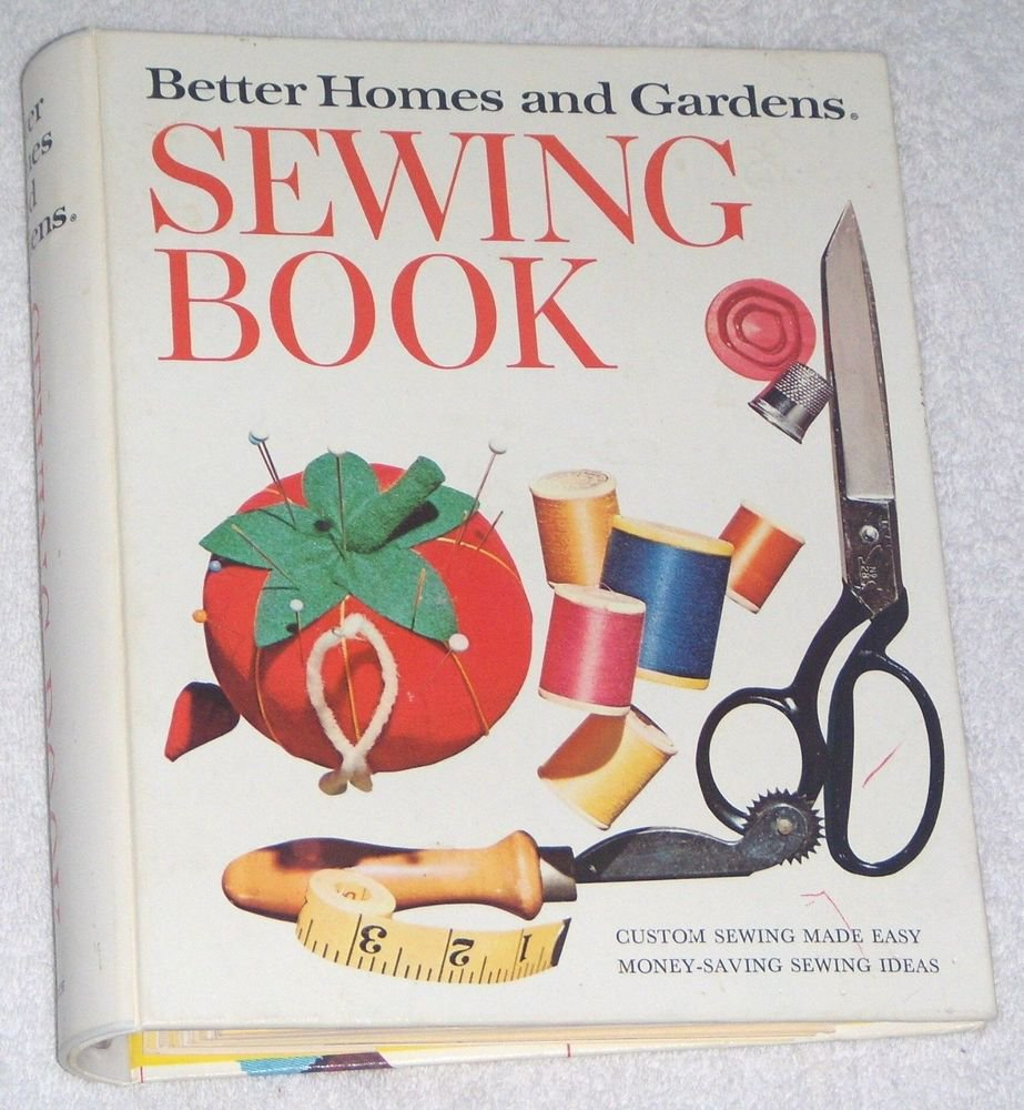Vintage 1974 Better Homes And Gardens Sewing Book 5 Ring