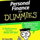 Personal Finance for Dummies by Eric Tyson and David Silverman  Retail $21.99