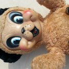 Vtg 50'S GUND PANDA BEAR BIG EYES  RUBBER FACE J SWEDEN~ JINGLE BELLS ~CHRISTMAS